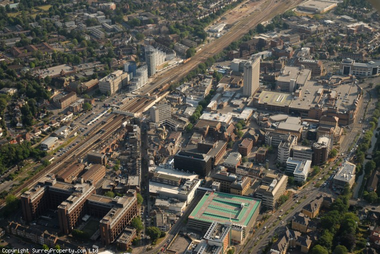 Estate Agents Woking >> Woking aerial photos - SurreyProperty.com property and relocation guide