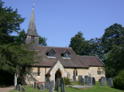 St Peters church Tandridge