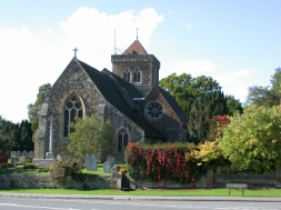 St Marys church Chiddingfold