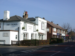 The Crown pub Knaphill
